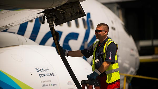 We Fly Greener Alaska Airlines Sustainability